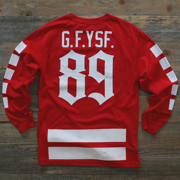 Goons Hockey Jersey Tee Red L/S - 2