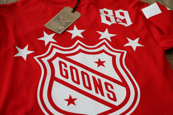 Goons Hockey Jersey Tee Red L/S - 3