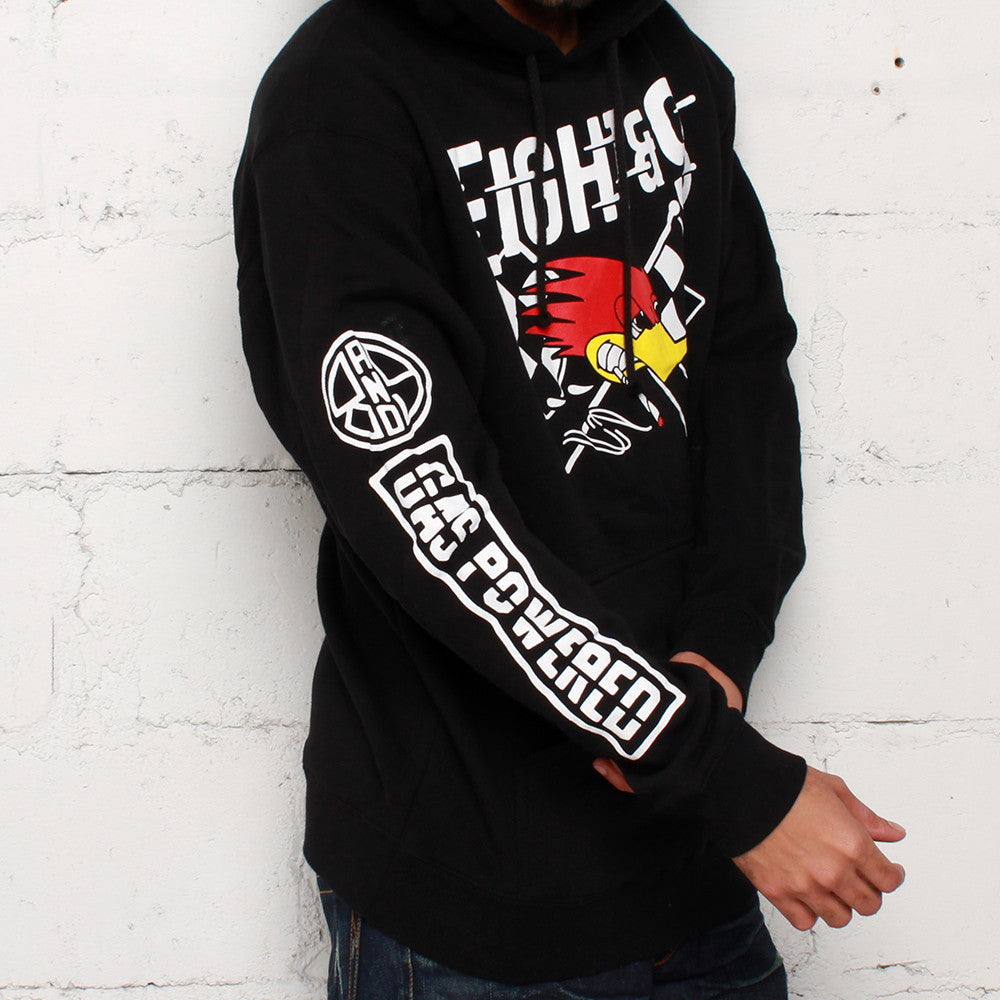 Octane Heavy Hooded Sweatshirt Black