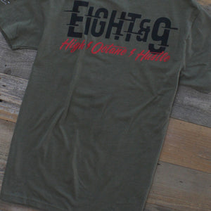 Octane T Shirt Army Heather - 6