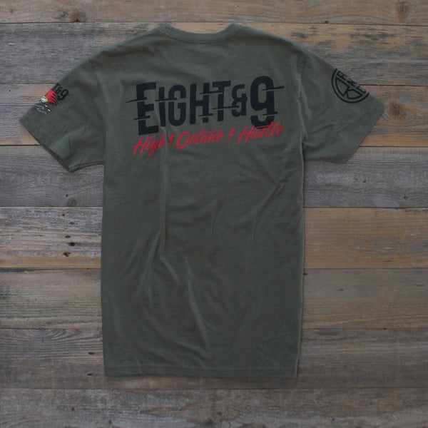 Octane T Shirt Army Heather - 4