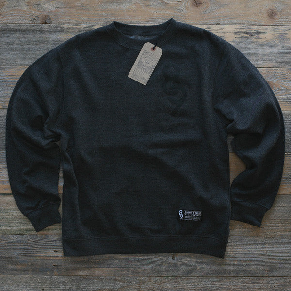 Keys Crewneck Sweatshirt Charcoal Heather - 1