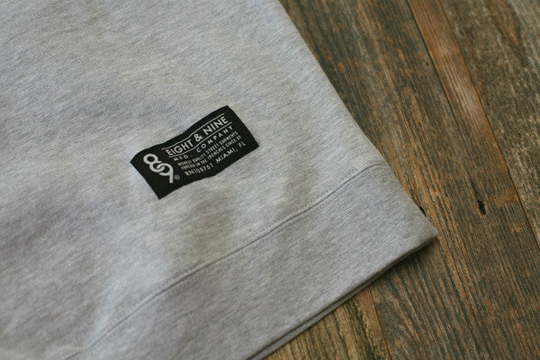 Crime Pays Hooded Sweatshirt Grey - 4