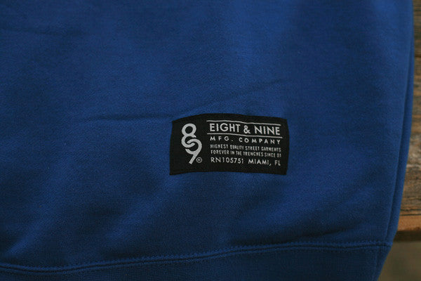 Offshore Imports Zip Up Hoody Sport Blue - 6