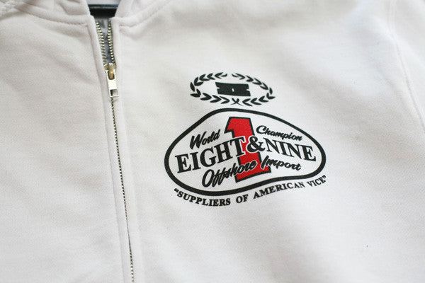 Offshore Imports Zip Up Hoody Fire Red - 3