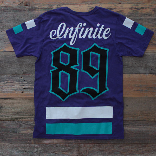On Deck Hockey Jersey Tee Grape - 2