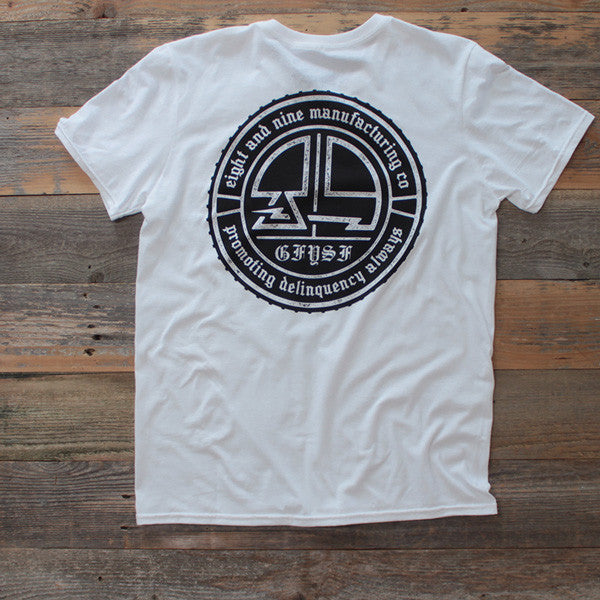 Delinquency Tee White - 2