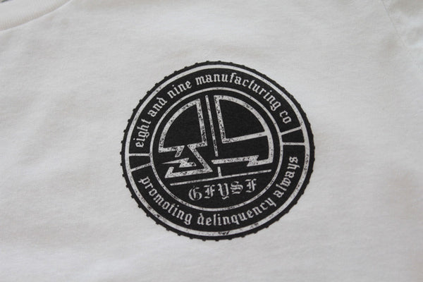 Delinquency Tee White - 3