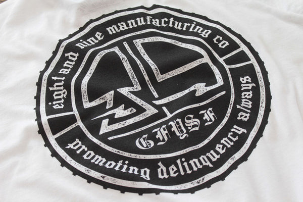 Delinquency Tee White - 4