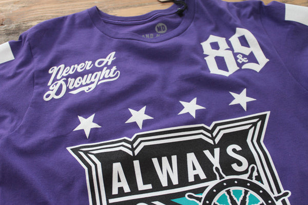 On Deck Hockey Jersey Tee Grape - 3