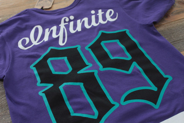 On Deck Hockey Jersey Tee Grape - 7