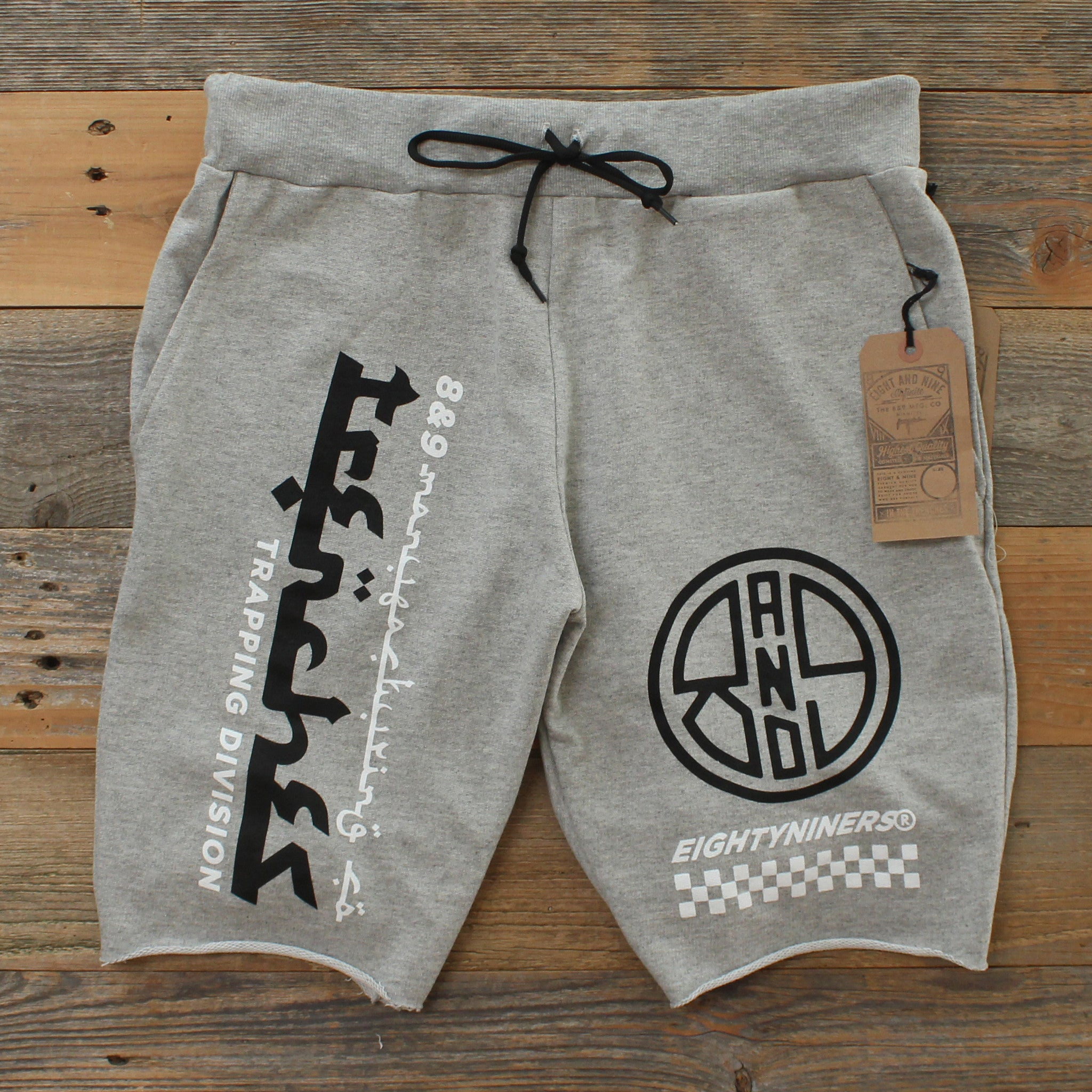 Trap Division French Terry Shorts Grey - 2
