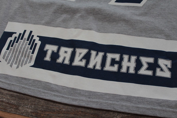 CSKA Hockey Jersey Tee Grey - 7