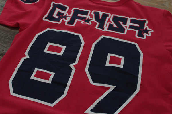 CSKA Hockey Jersey Tee Red - 6
