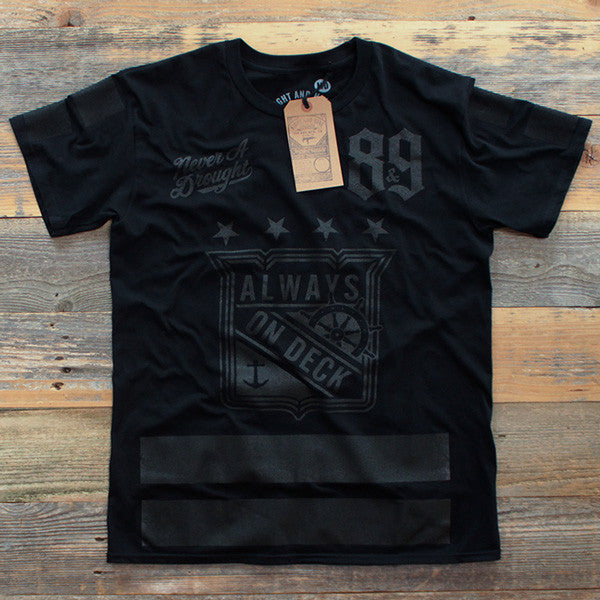 On Deck Hockey Jersey Tee Stealth - 1