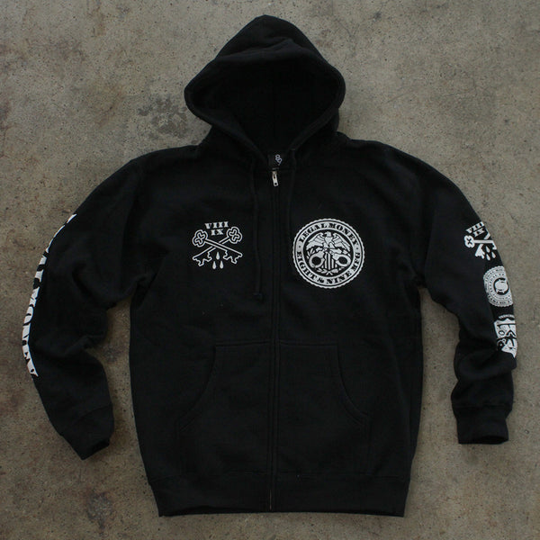 Legal Money Zip Up Hoody Black - 5