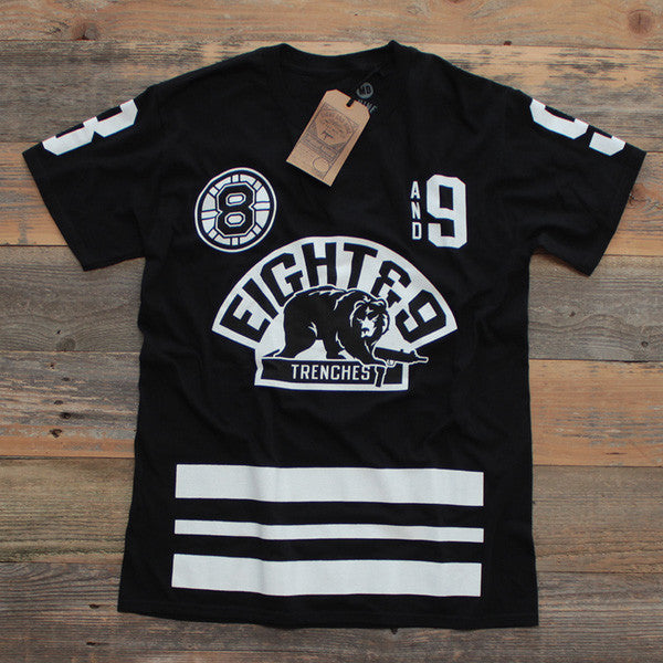 Trenches Hockey Jersey Black - 1