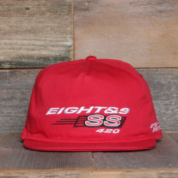 Stop Snitchin Unstructured Baseball Hat Red - 1