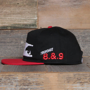 All Eyez On Me Unstructured Baseball Hat Bred - 2