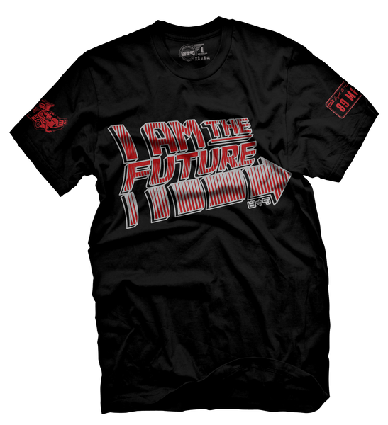 I Am The Future Black Cement T Shirt - 2