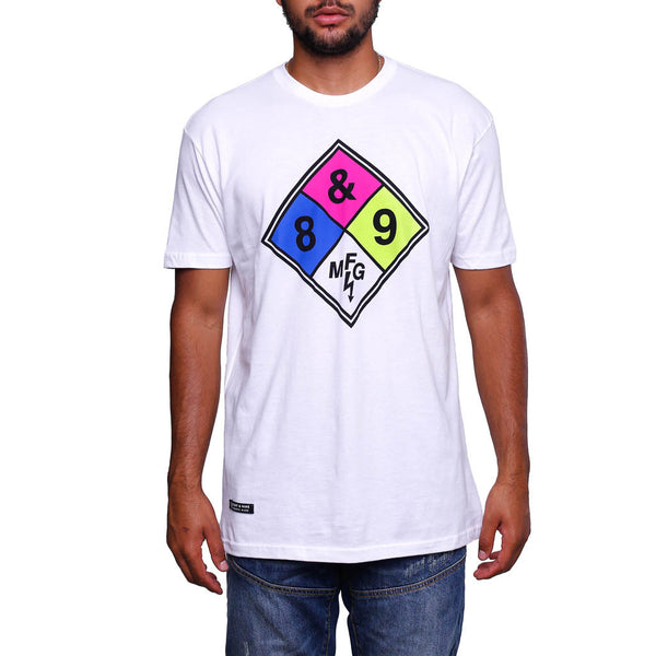 Gas Man T Shirt White