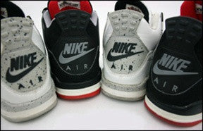 Air Jordan Cement 4 Sneaker Poster