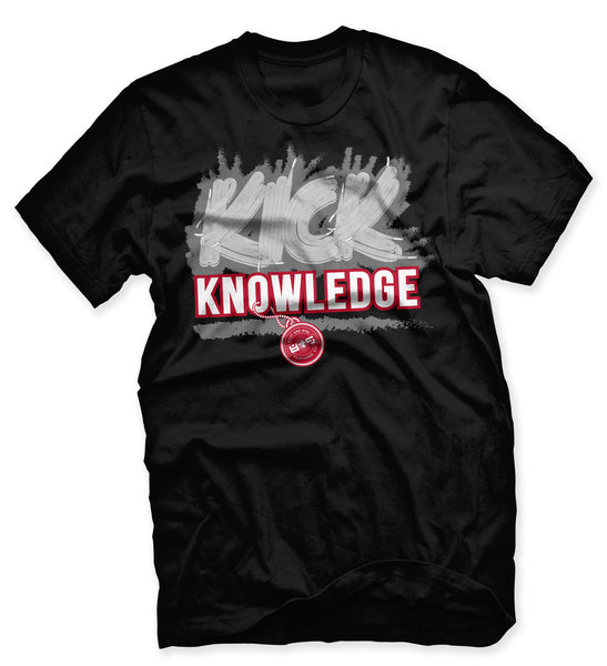 Kick Knowledge Black Cement T Shirt - 2