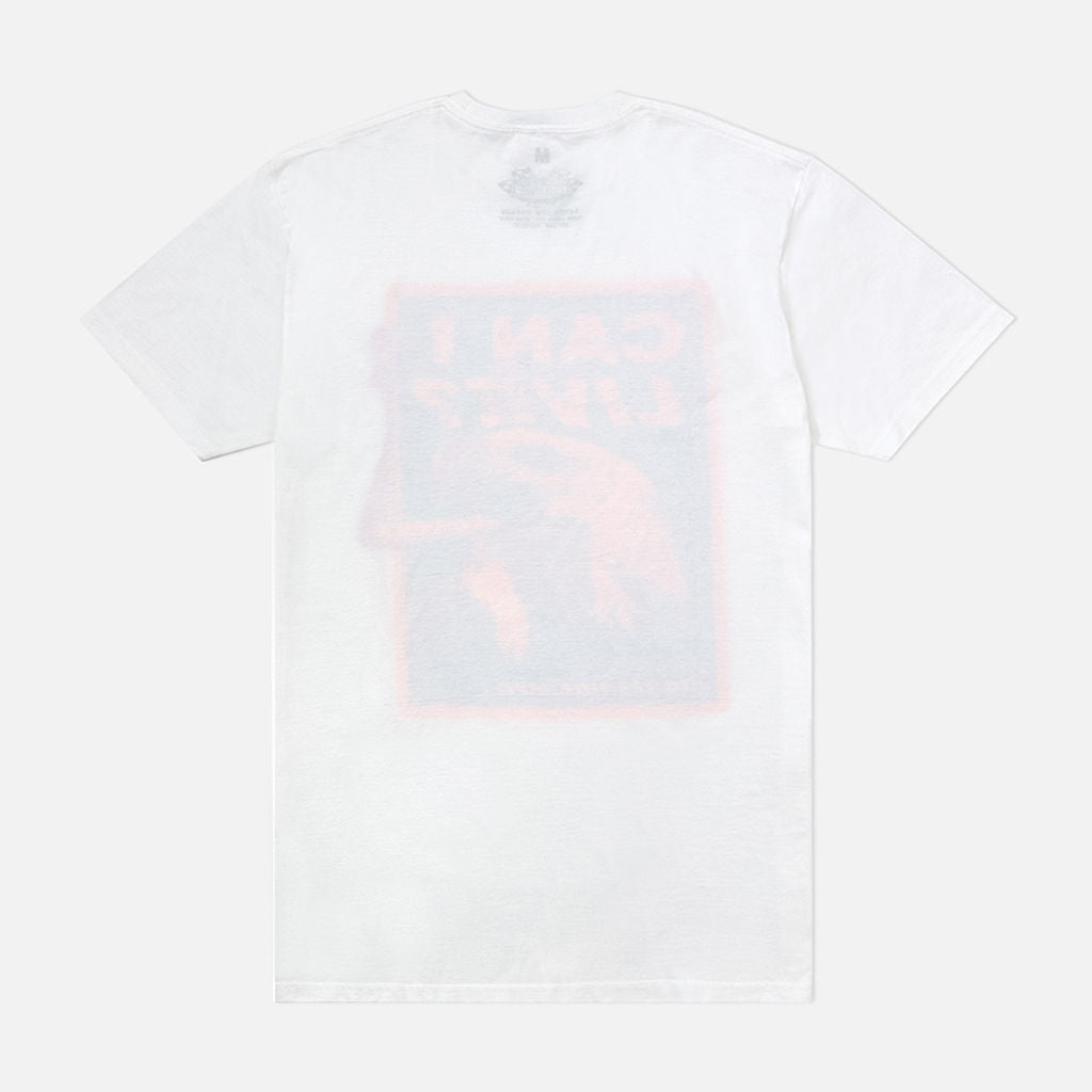 Live Smoke T Shirt White