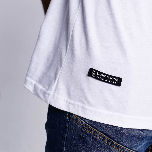 Live Wire T Shirt Dirty White _6