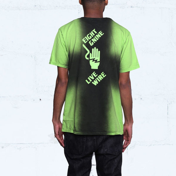 Live Wire T Shirt Indiglo Back Jordan 14