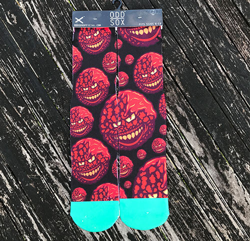 Lost In The Meatballs Socks