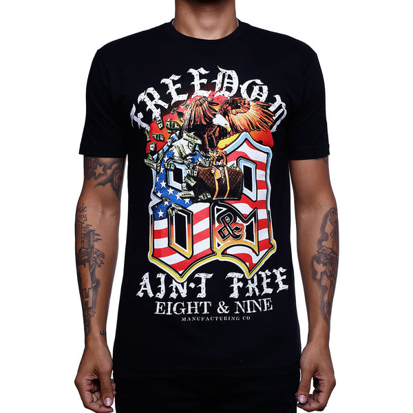 Louie Freedom T Shirt Black