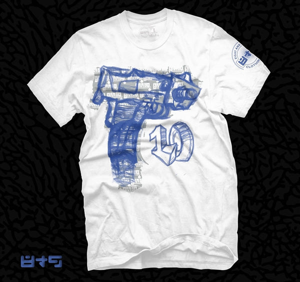 MAC 10 Jordan X Old Royal T Shirt - 3