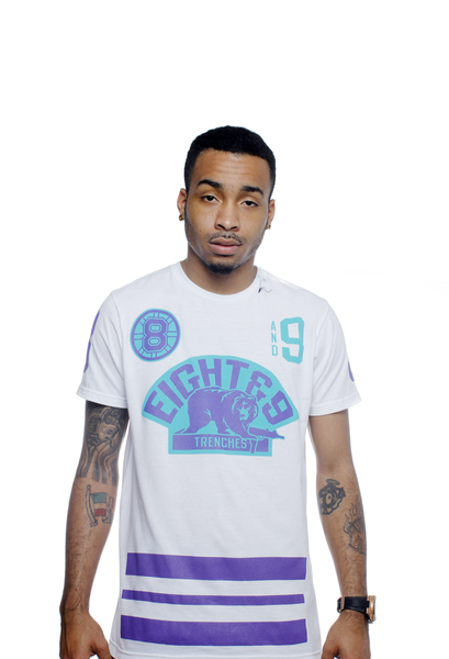 Trenches Hockey Jersey Grape Tee - 3