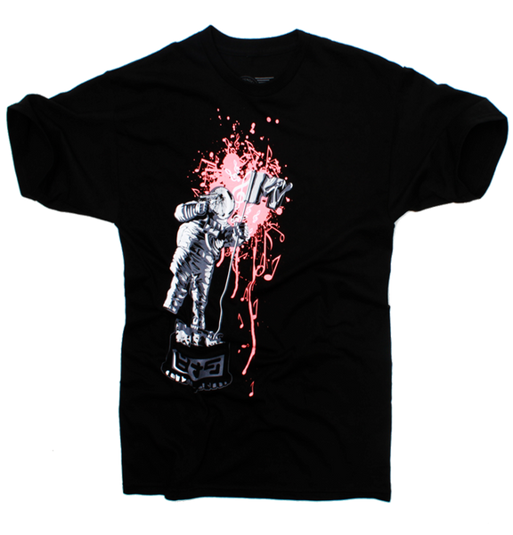 Mango Brain Dead MTV Moon Man T Shirt - 2