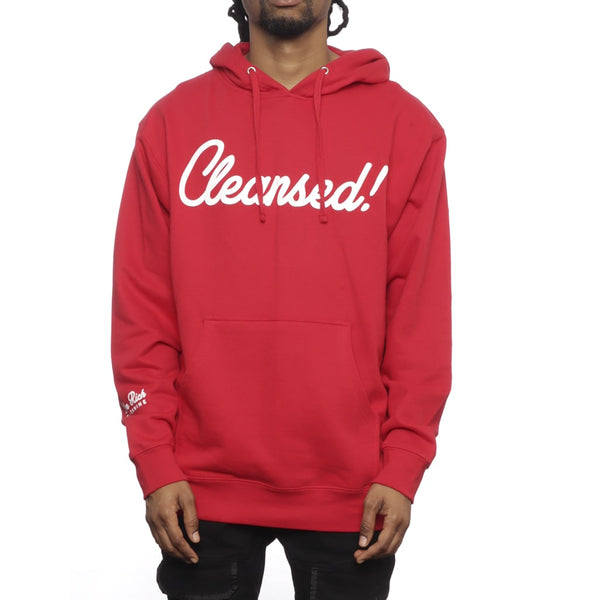 Mike Rich Cleansed 2.0 Hoodie Youtube Exclusive Red