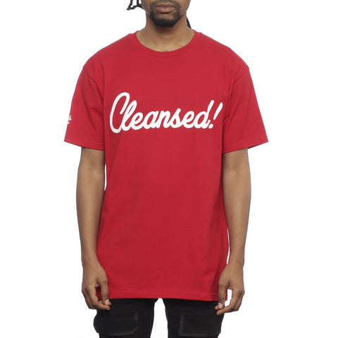 Mike Rich Cleansed 2.0 T Shirt Youtube Exclusive Red