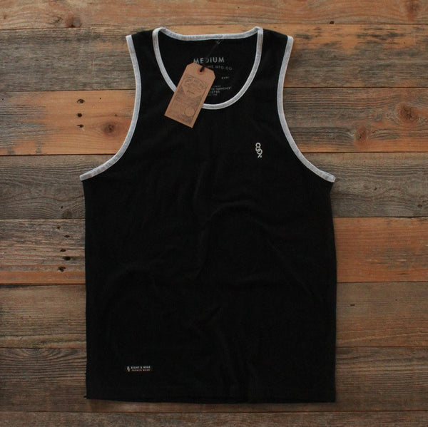 Mini Keys Premium Issue Tank Top center Cement