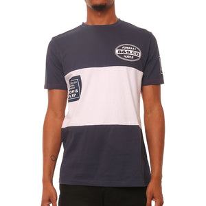 Money Division Navy Panel Tee
