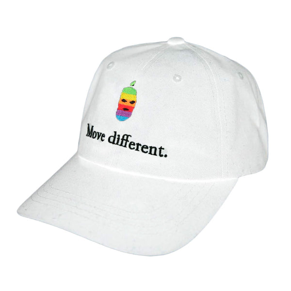 Move Different Dad Hat White