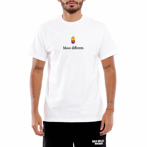 Move Different Tee White
