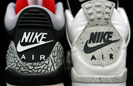 buy popular cd652 7c517 Nike Air Jordan 3 & 4 Sneaker Poster