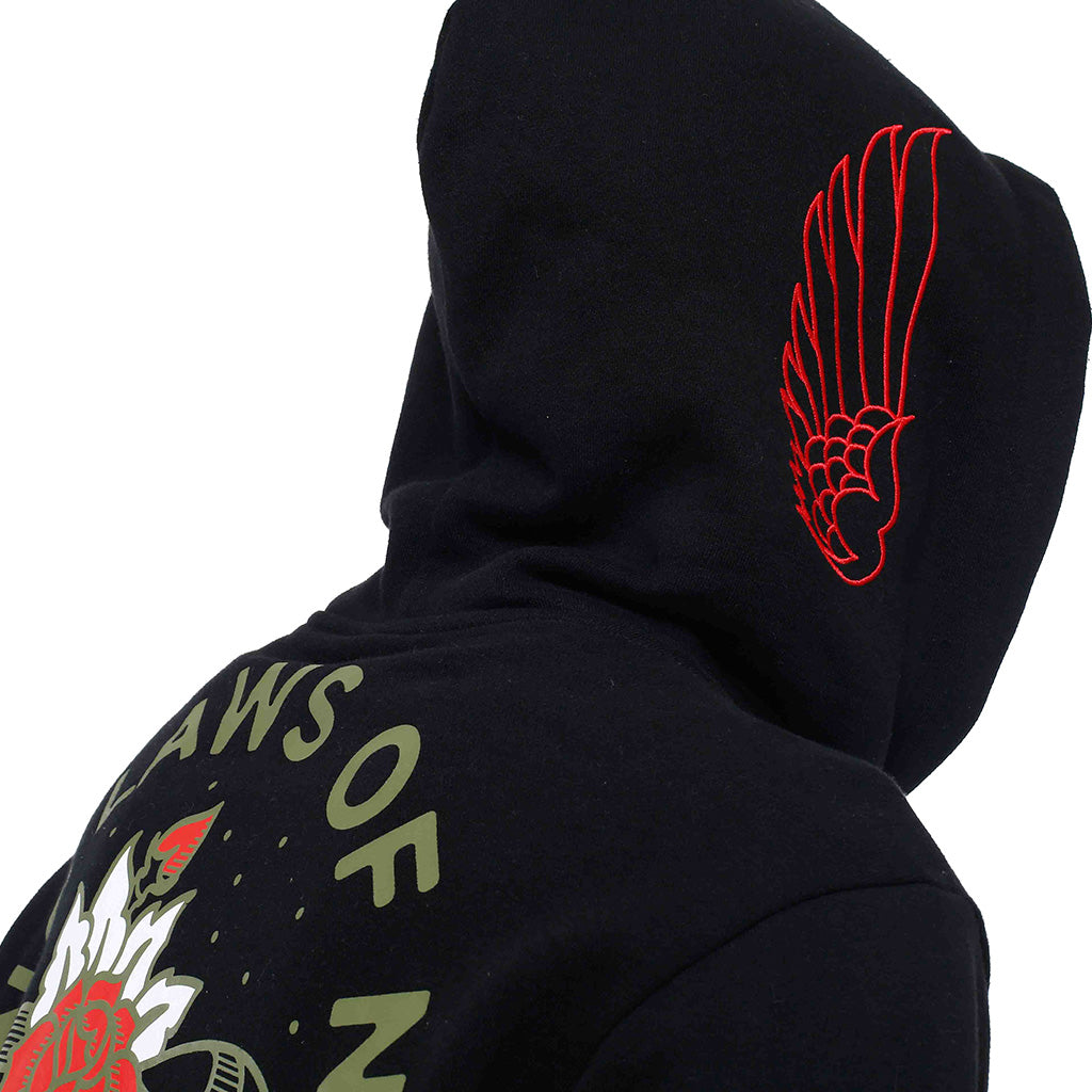 Nature Zip Up Hooded Sweatshirt