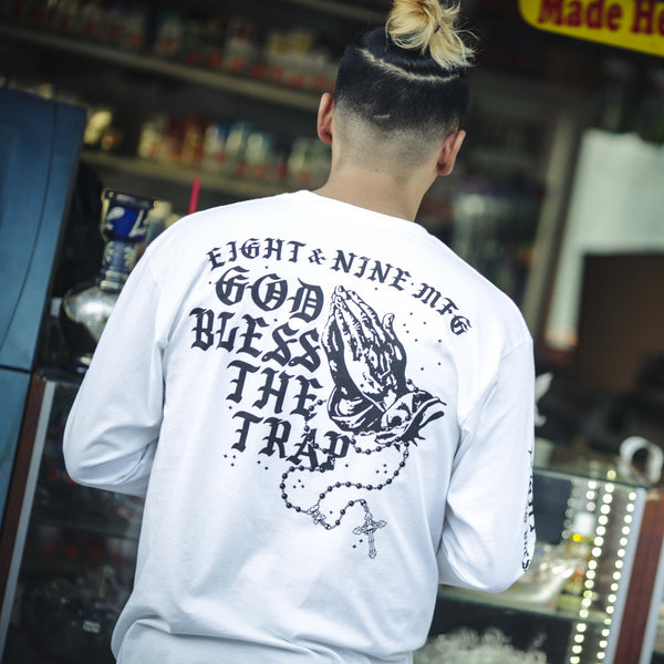 Blessed L/S T Shirt White