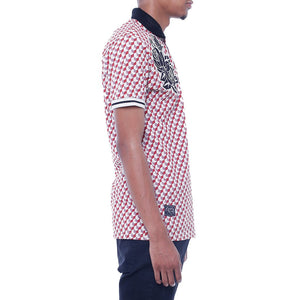 New Life Pattern Polo Shirt Righ