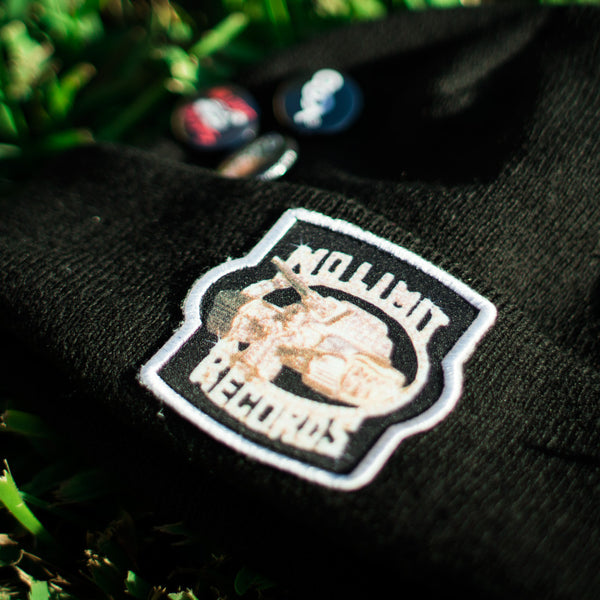 No Limit Soldier Custom Hip Hop Patch Beanie with Pins Black (3)