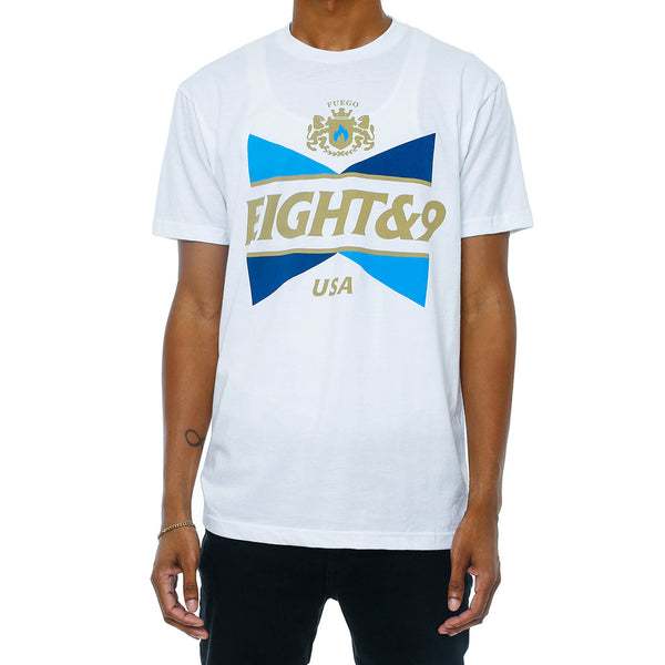 No Squares T Shirt French Blue