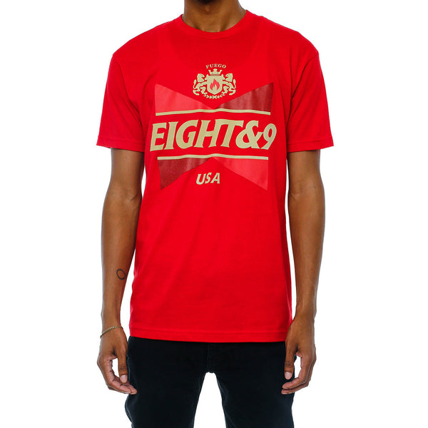 No Squares T Shirt Red