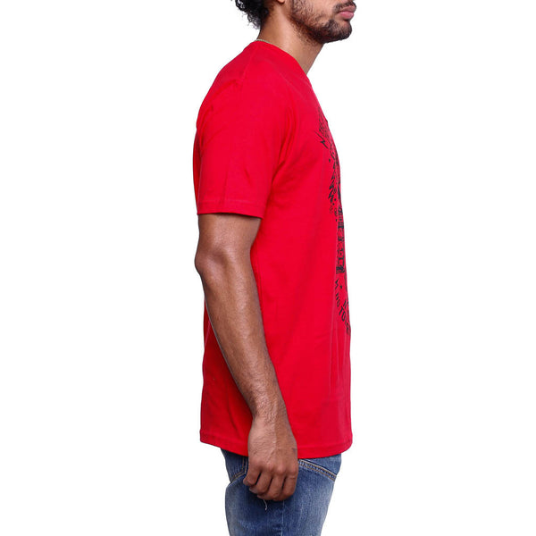 Only Now T Shirt Red front side