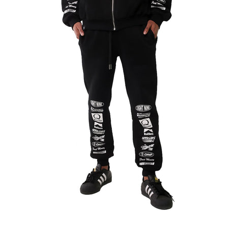 Outta State Racing Sweats Black